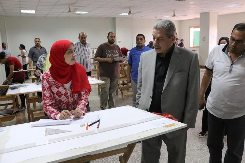 440 حالة غش بامتحانات جامعة بني سويف