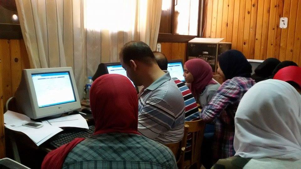290 طالب ثانوية يسجلون رغباتهم في ثاني أيام المرحلة الثالثة بجامعة المنصورة