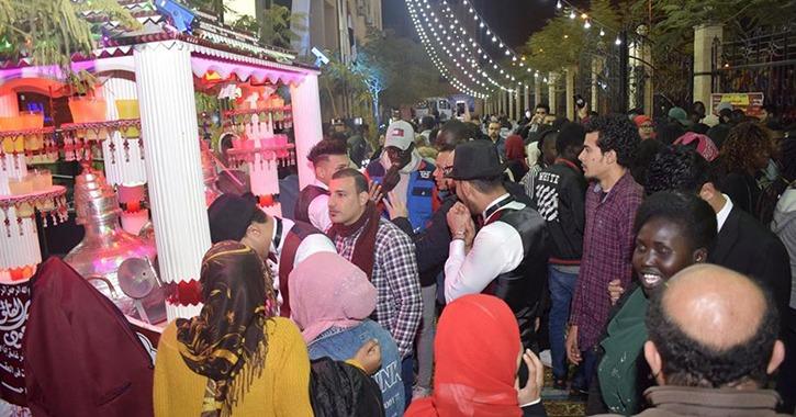 جامعة المنصورة تستقبل الطلاب الوافدين بـ«حمص الشام»