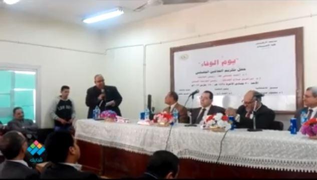 شعر مدح لرئيس جامعة الأزهر الدكتور أحمد حسني والرئيس السابق الدكتور إبراهيم الهدهد