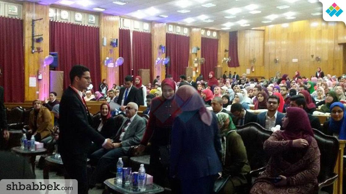 افتتاح الملتقى الـ17 لطلاب EPSF بجامعة المنصورة (صور)
