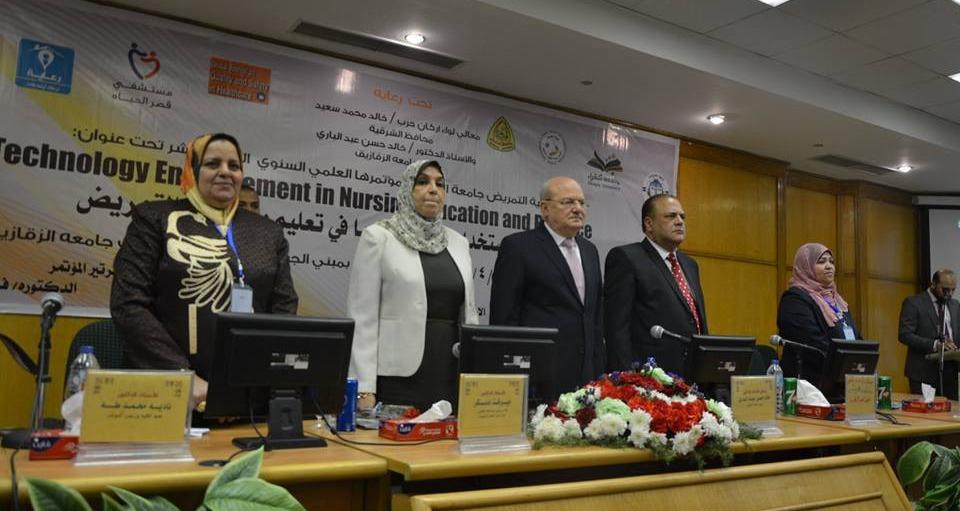 انطلاق المؤتمر العلمي الـ11 بكلية تمريض جامعة الزقازيق