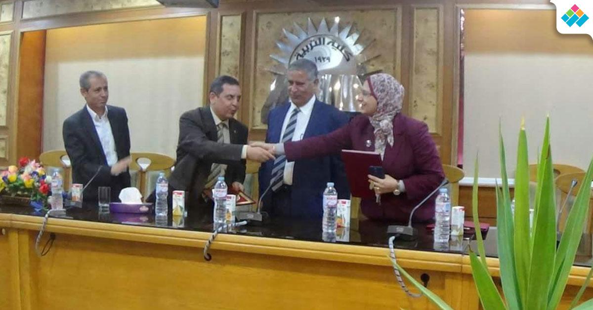 برتوكول تعاون بين تربية عين شمس والأكاديمية المهنية للمعلمين (صور)