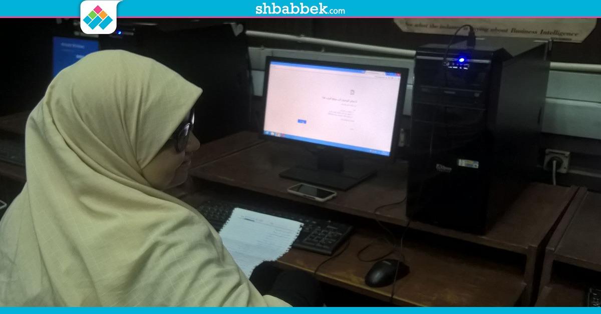 انقطاع الانترنت عن معمل التنسيق بهندسة القاهرة