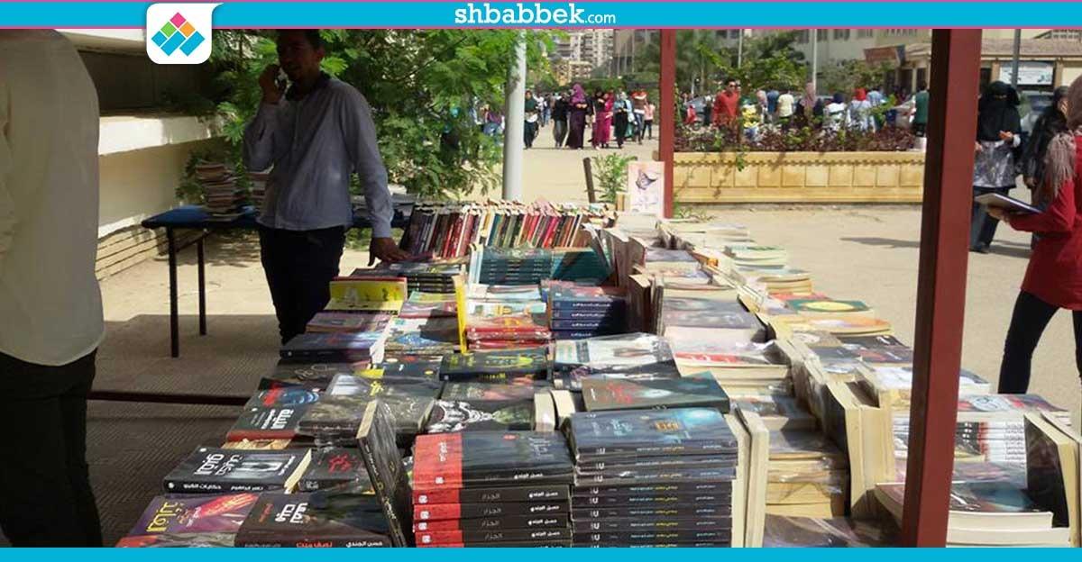 تخفيضات 50%.. افتتاح معرض كتب «سيف الدين» بجامعة المنصورة