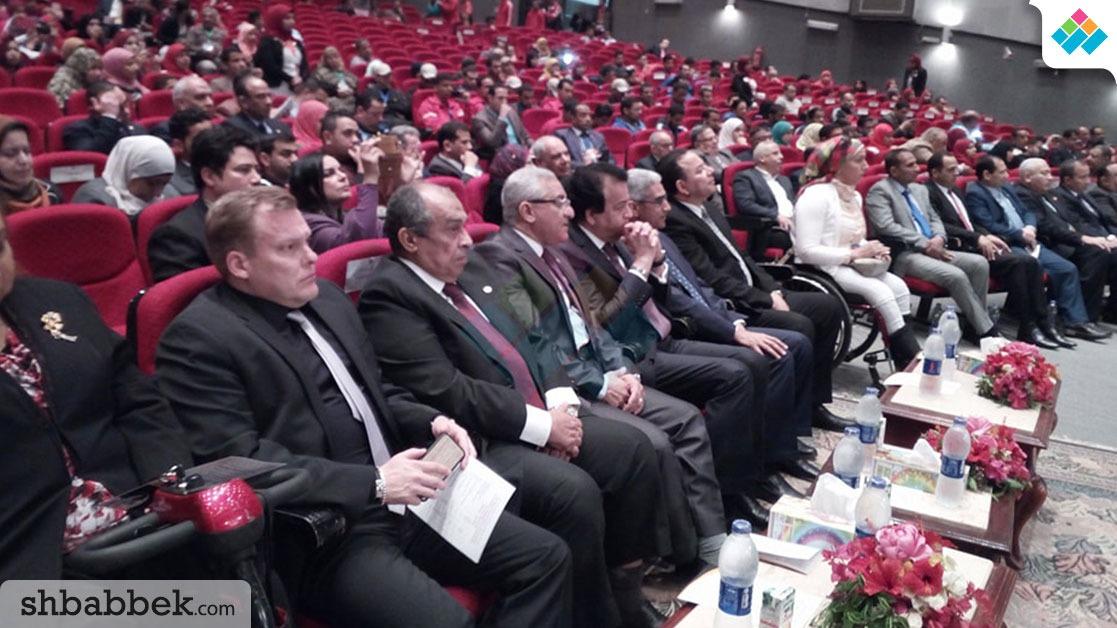 مؤتمر دولي بالمنيا عن «دور الجامعات في دمج متحدي الإعاقة» (صور)