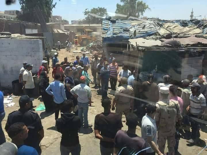 إزالة منطقة عشوائيات القنال الداخلي بـ«بورسعيد» لإقامة مول تجاري وسوق خضار