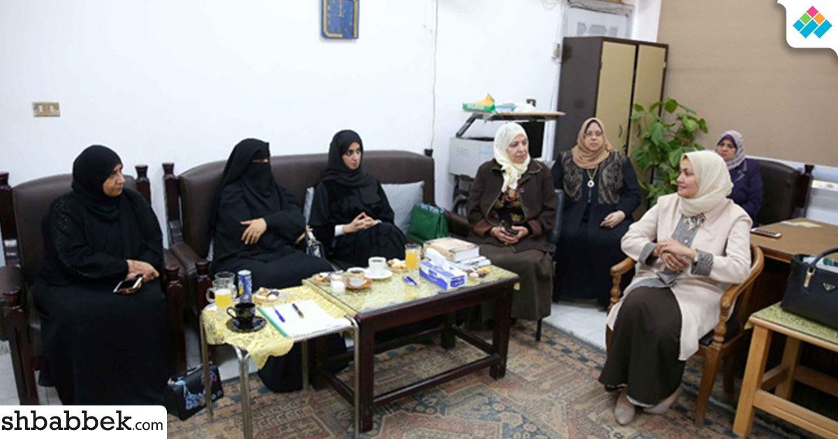 بالصور.. وفد إماراتي يزور كلية الدراسات الإسلامية «بنات» جامعة الأزهر