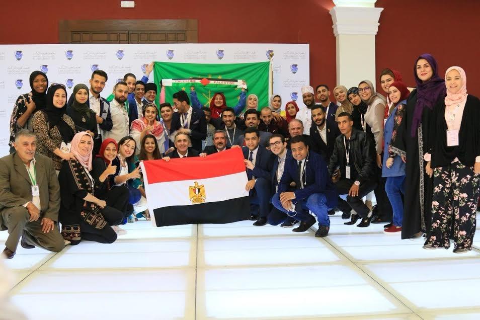 طالب بجامعة عين شمس يمثل مصر في منتدى شباب العواصم العربية