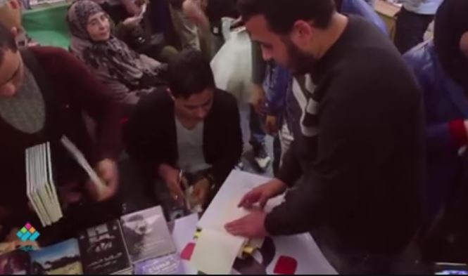 حفل توقيع ديوان «حبيبتي بتحبك يارب» لطالب جامعة الأزهر