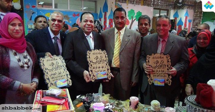 جامعة المنيا تفتتح المعرض الأول لوحدة الابتكار وريادة الأعمال (صور)