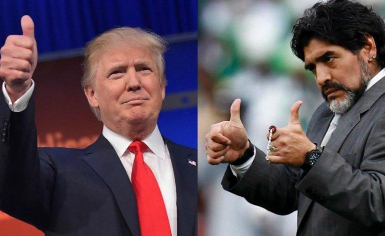 بسبب ترامب.. الأسطورة «مارادونا» ممنوع من دخول أمريكا