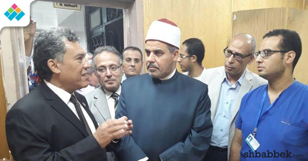 رئيس جامعة الأزهر يفتتح توسعات مستشفى سيد جلال (صور)