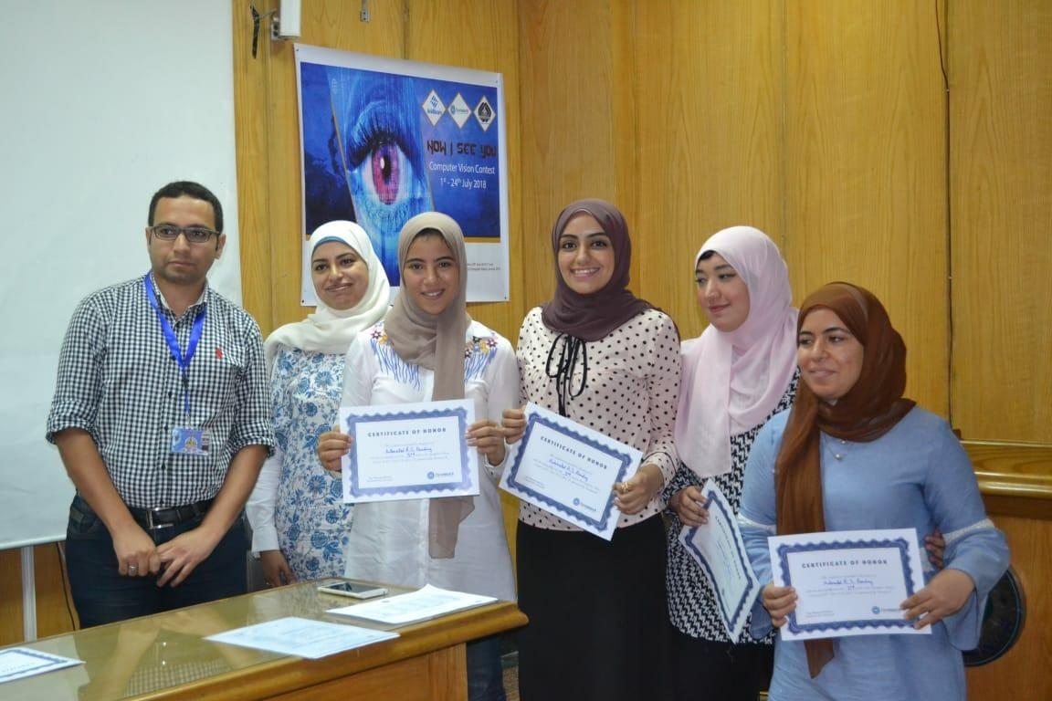 اختتام مسابقة البرمجيات بكلية الحاسبات جامعة عين شمس.. تعرف على الفائزين