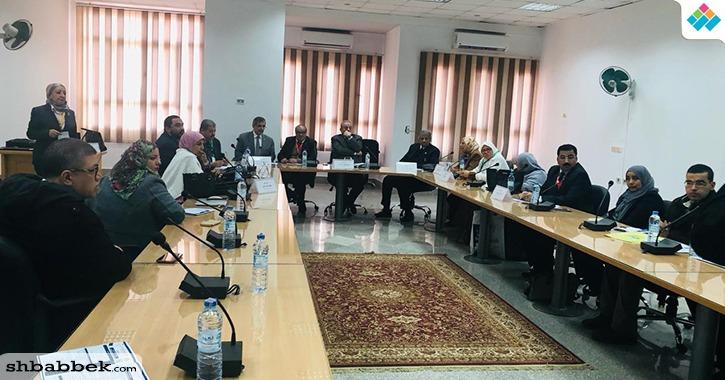 جلسة لاستطلاع مقترحات تطوير التعليم العالي ضمن فعاليات مؤتمر جامعة بنها الدولي