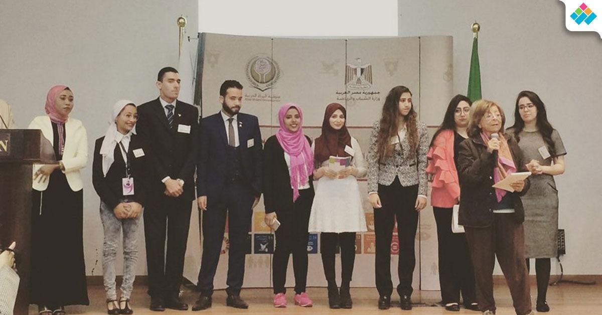 اختتام فاعليات «ملتقى الشباب» لطلاب نموذج الأمم المتحد للمرأة بجامعة القاهرة (صور)