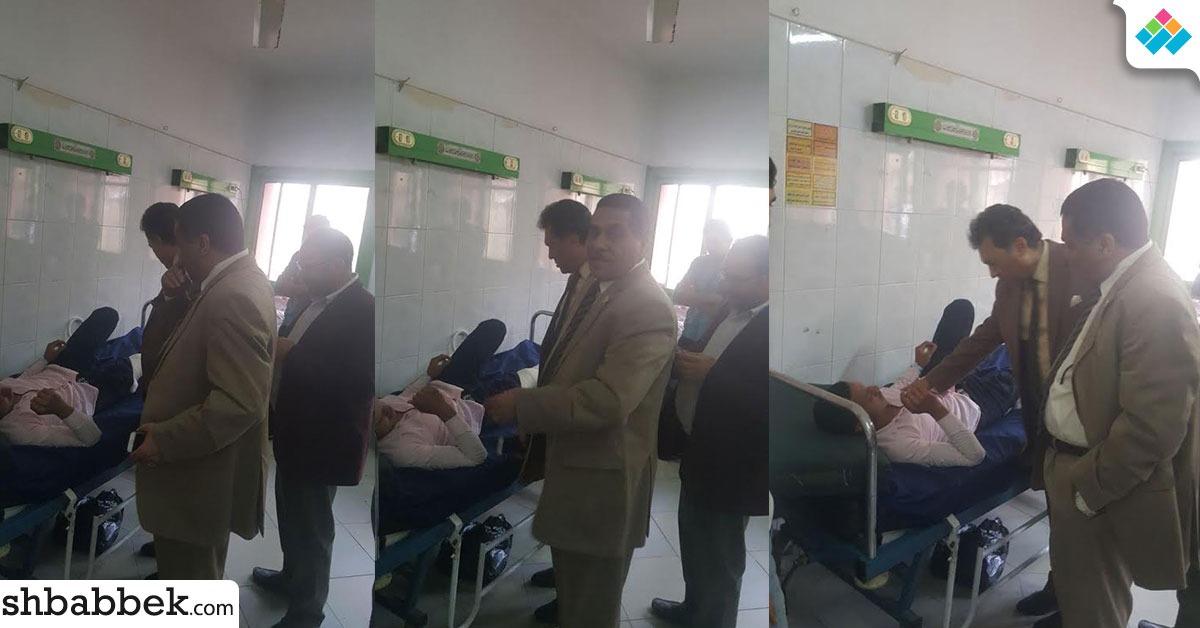طالب بتربية الأزهر يتعرض لحادث سير