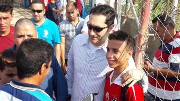لماذا اختار نجل علاء مبارك الأهلي؟