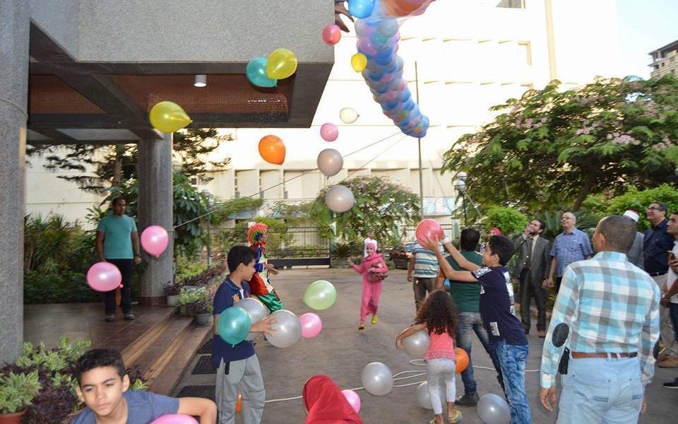 مستشفى الأطفال بجامعة المنصورة تقيم حفلا بمناسبة عيد الأضحى (صور)