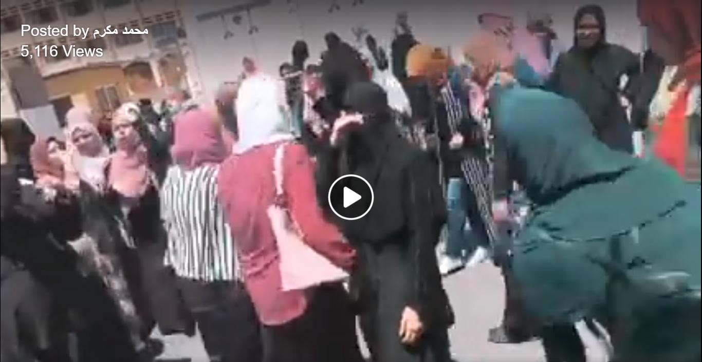 خروج طالبات الأزهر عن المألوف.. «قلة في وش أم الكلية» (فيديو)