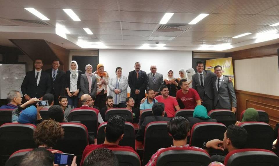 طالبات جامعة المنصورة يفوزون بالمركز الثاني في مسابقة «أفضل مبادرة»
