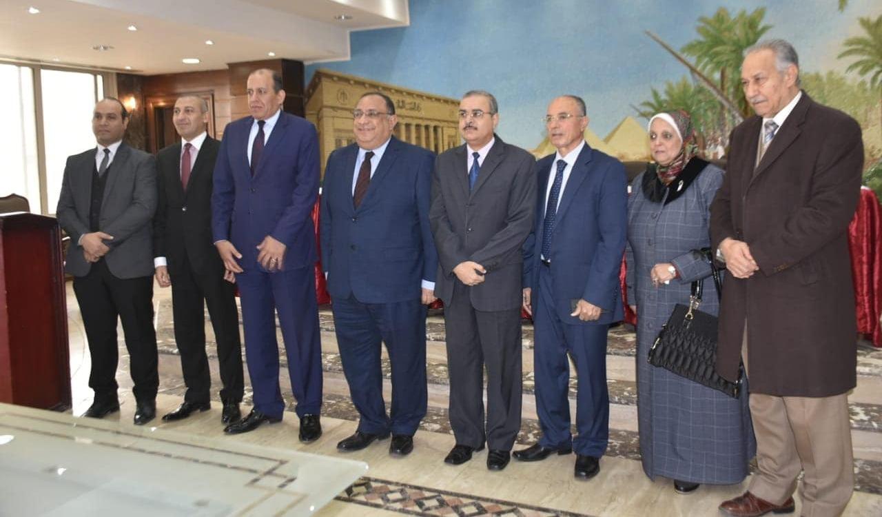 بروتوكول تعاون بين جامعة حلوان ونادي القضاة
