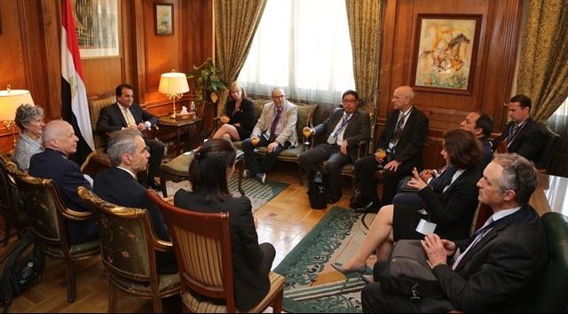 تفاصيل اليوم الأول من زيارة الوفد البريطاني للجامعات المصرية