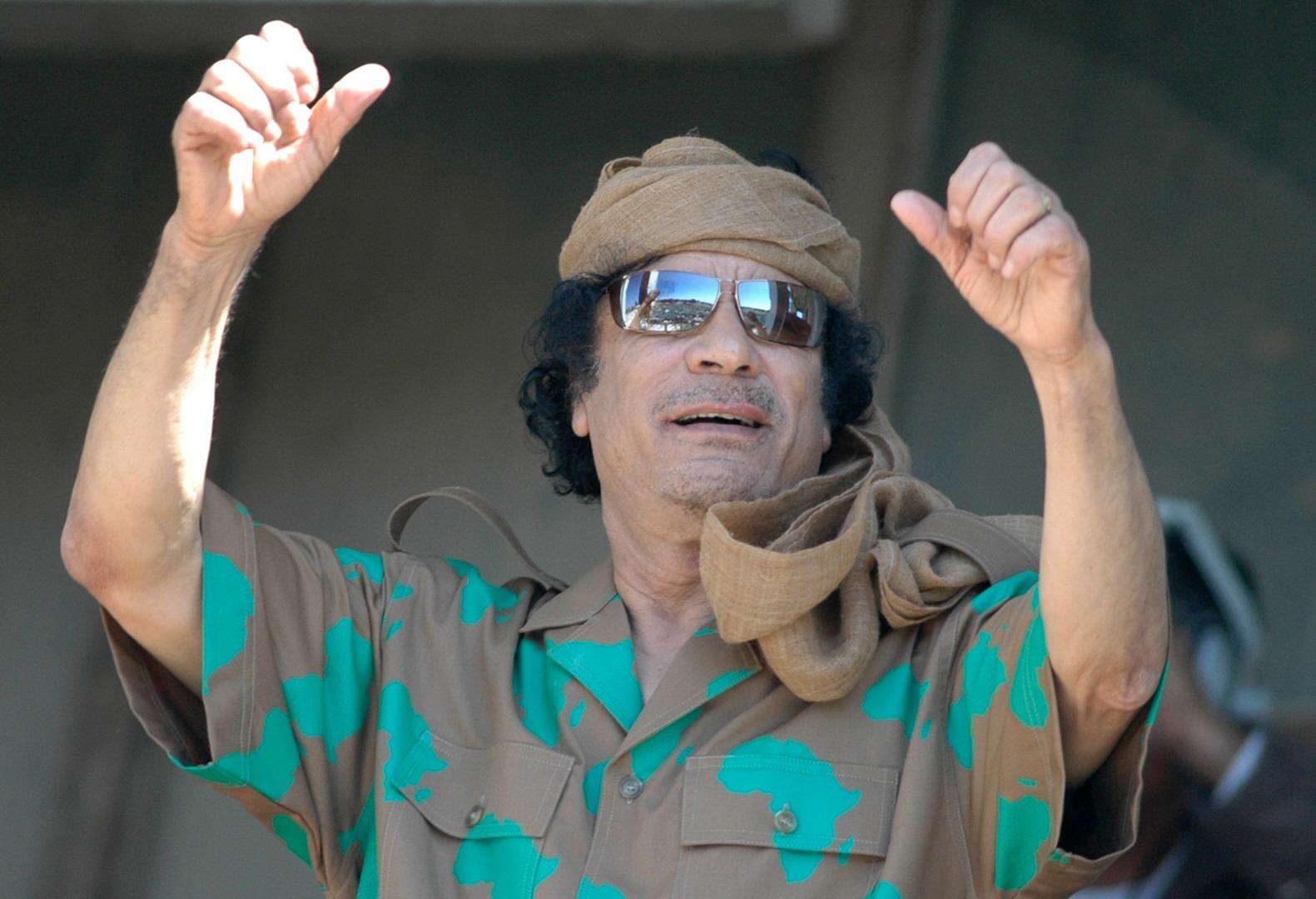 «مهووسون في السلطة.. تحليل نفسي لزعماء استهدفتهم ثورات 2011» القذافي