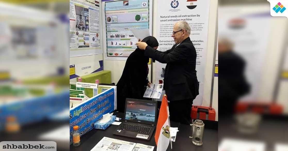 جامعة عين شمس تحصد ميداليتين من معرض جنيف الدولي لشباب المخترعين