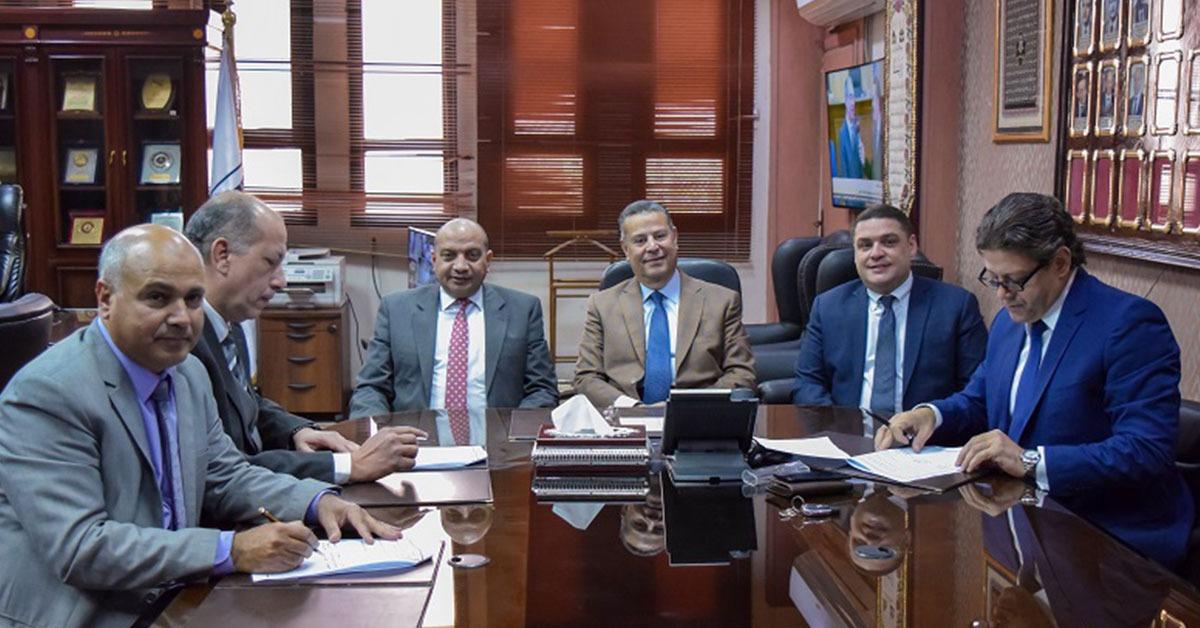 تعاون ثلاثي بين جامعة بني سويف ووزارة الصحة وجمعية مستقبل وطن