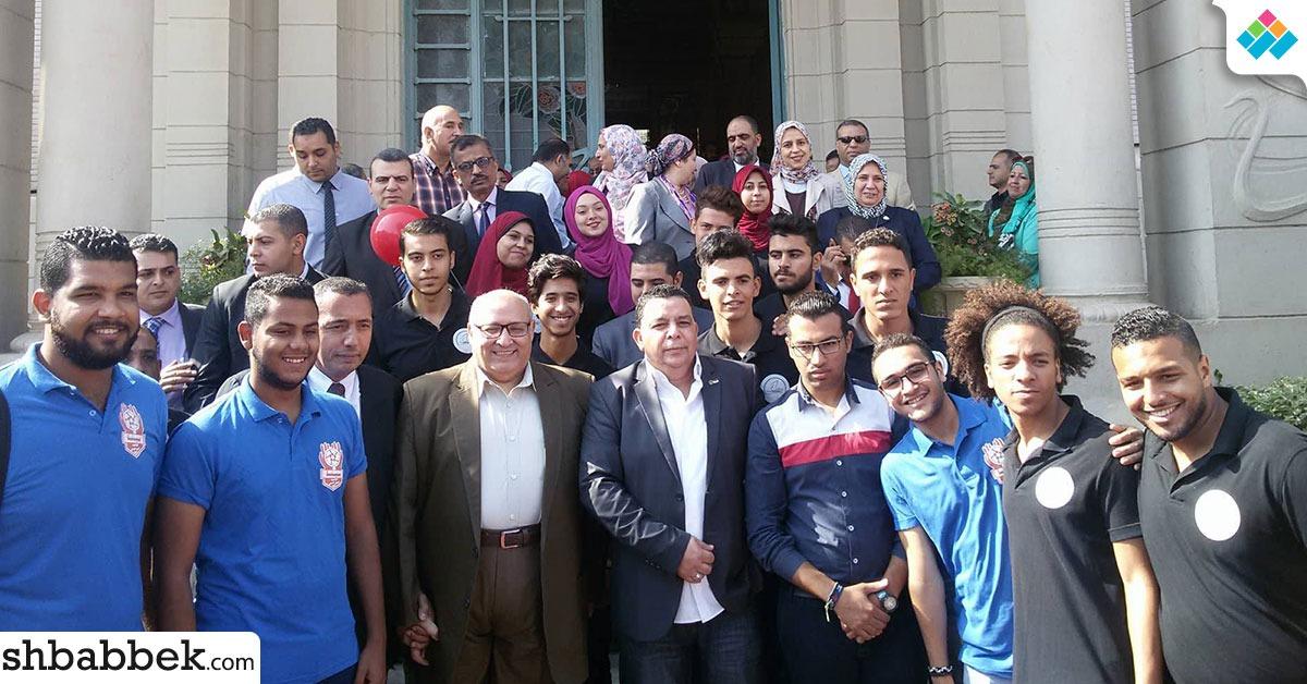 اختتام فاعليات معرض «صنع في مصر 3» بجامعة عين شمس