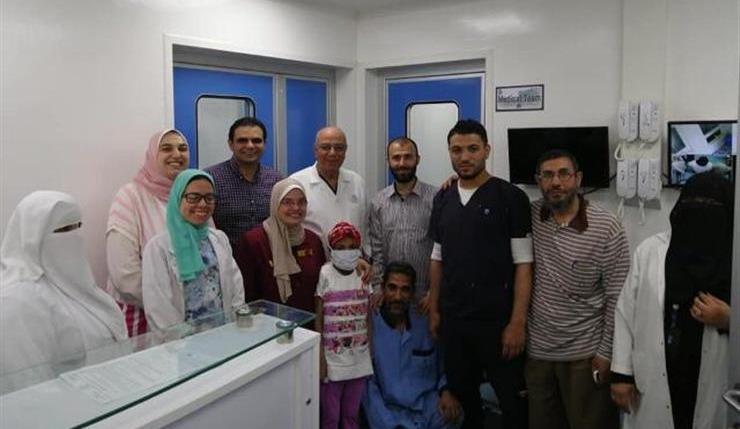 جامعة المنصورة تجري أول عملية زراعة نخاع ناجحة في مستشفى الأطفال