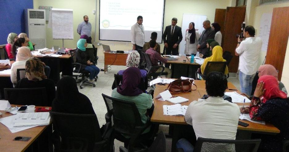 جامعة المنيا تنظم يوما تعريفيا بخدمات مركز التطوير المهني