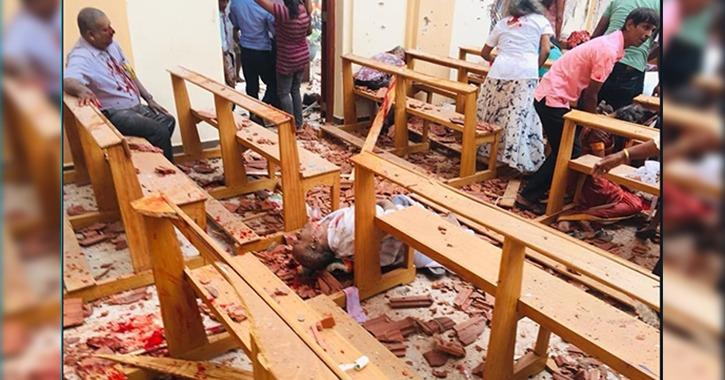حكاية حوادث تفجيرات سريلانكا في 10 صور