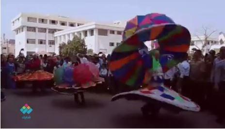 فقرات تنورة ضمن احتفالات «آداب بني سويف» بذكرى نصر أكتوبر