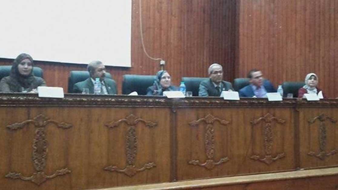 جامعة المنوفية تحذر الطلاب من مخاطر الإدمان القانونية والصحية