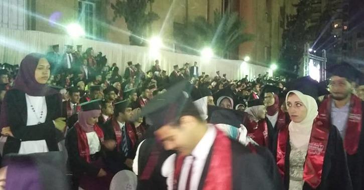 هندسة الإسكندرية تحتفل بتخريج 1961 طالب وطالبة