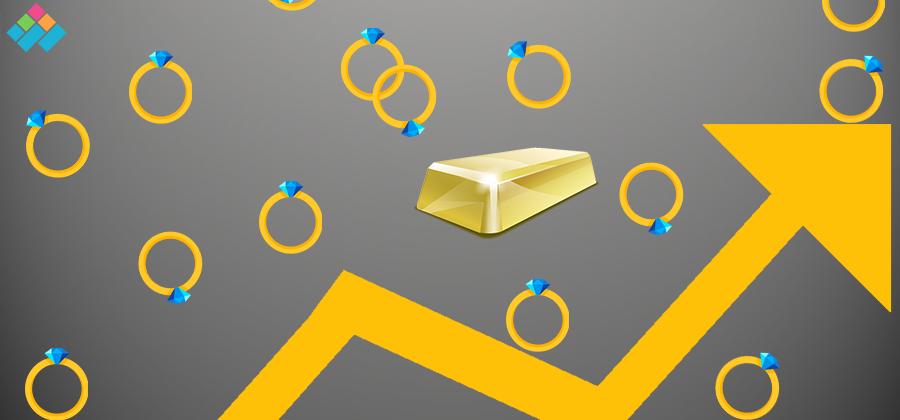 ارتفاع أسعار الذهب خلال تعاملات السبت 16 ديسمبر 2017