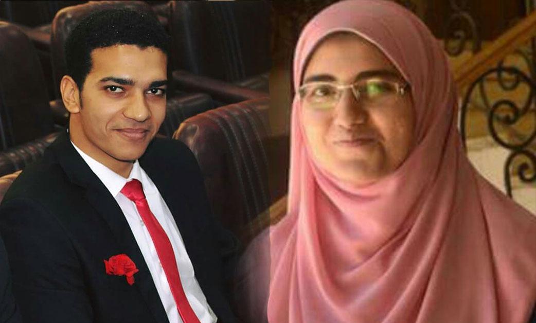 أحمد كمال وإسراء أحمد يفوزان بالمركز الأول في مسابقة «الطالب المثالي» بجامعة المنيا