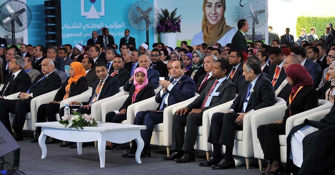 المؤتمر الوطني للشباب بجامعة القاهرة يناقش «بناء الإنسان وتطوير التعليم» في اليوم الأول