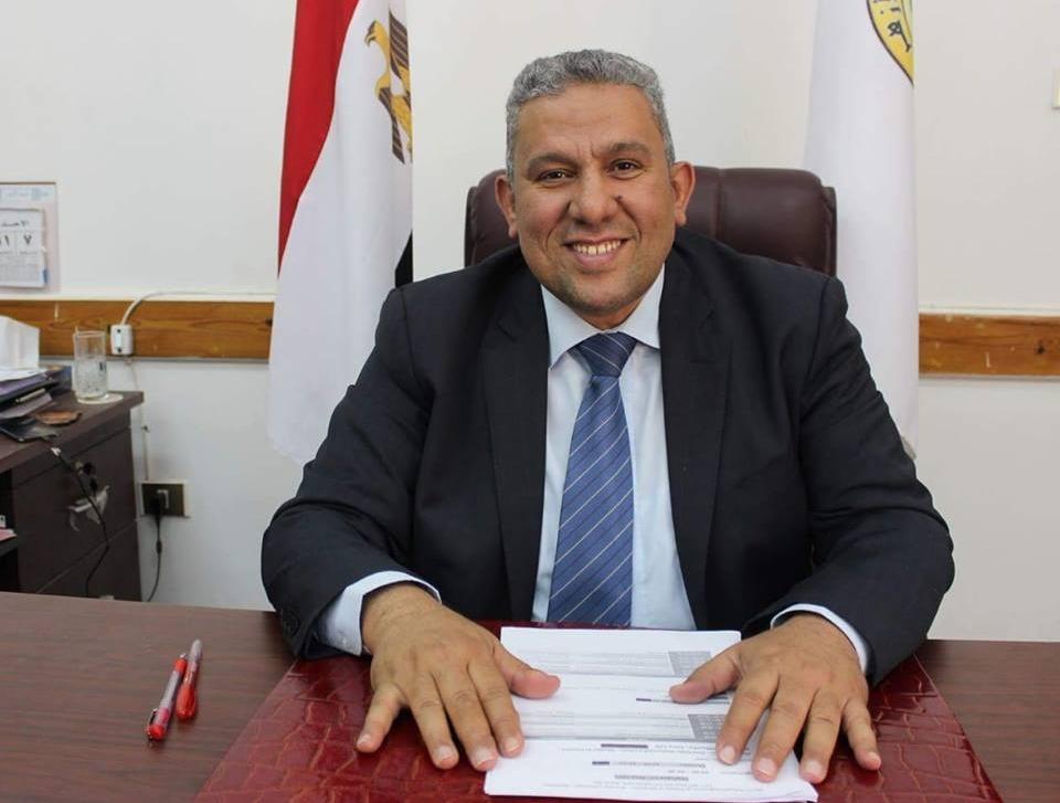 راشد محمد راشد عميدا لكلية طب بنات الأزهر بدمياط
