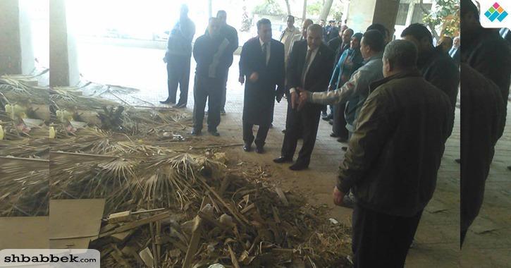جولة لرئيس جامعة الأزهر داخل الحرم الجامعي (صور)