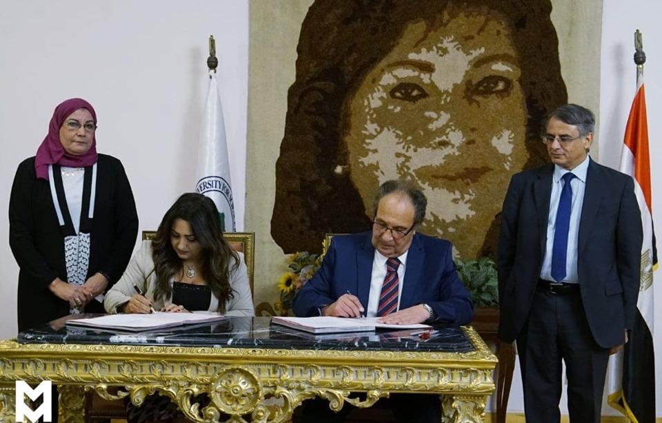 بروتوكول تعاون بين جامعة مصر وبوابة E-Gate لتأهيل الطلاب لسوق العمل