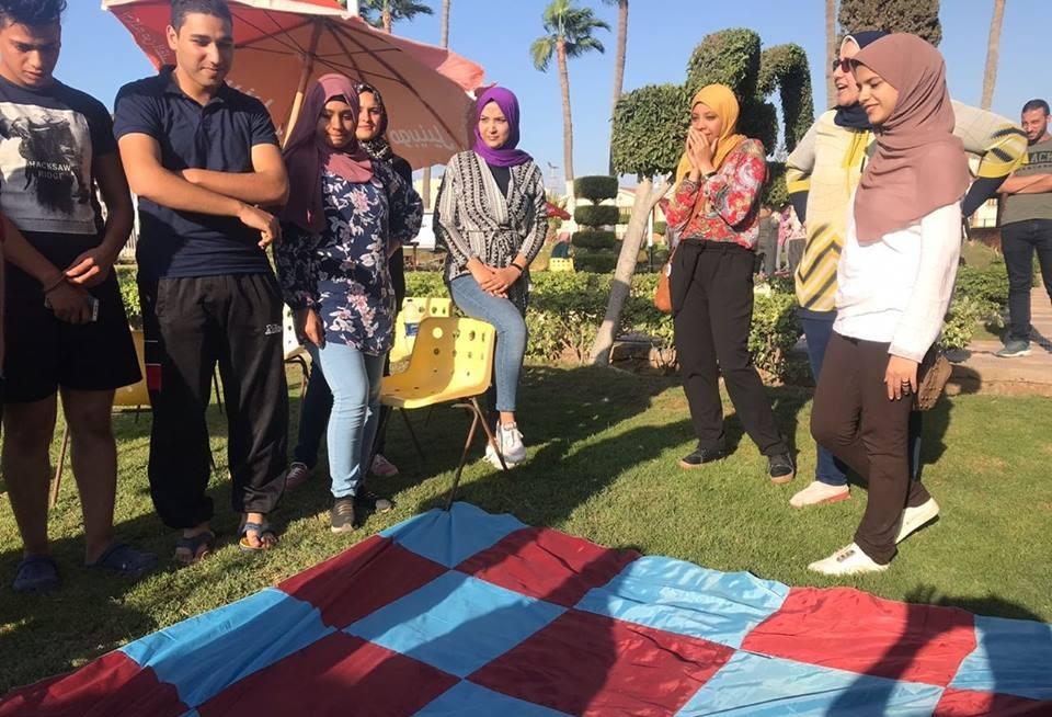 4 جامعات تشارك في معسكر «مناهضة التحرش» بالمنصورة