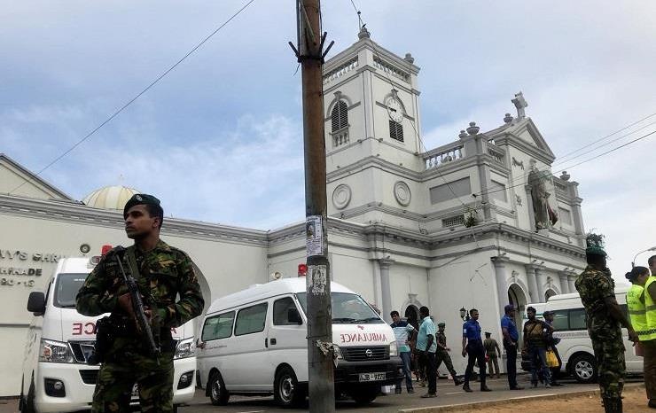 تفجير جديد يستهدف كنيسة في سريلانكا