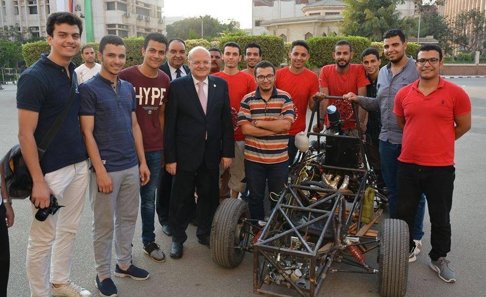 طلاب بـ«هندسة الزقازيق» يشاركون في مسابقة «formula student» الدولية