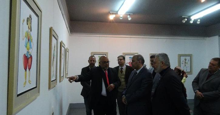 افتتاح معرض «المعايير التصميمية لمسرح عرائس الماريونيت» في جامعة المنيا