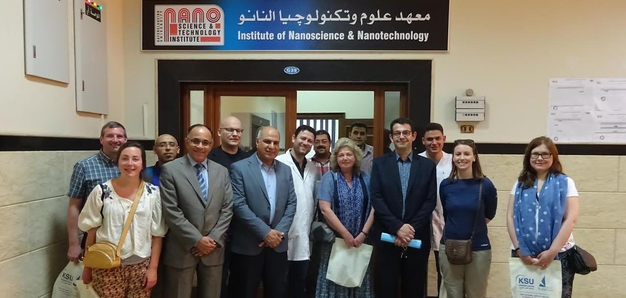 وفد من جامعات بريطانية يزور جامعة كفر الشيخ