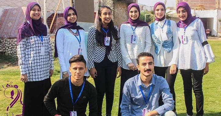 طلاب بإعلام جامعة أسيوط يطلقون حملة «كيانك» لتمكين المرأة