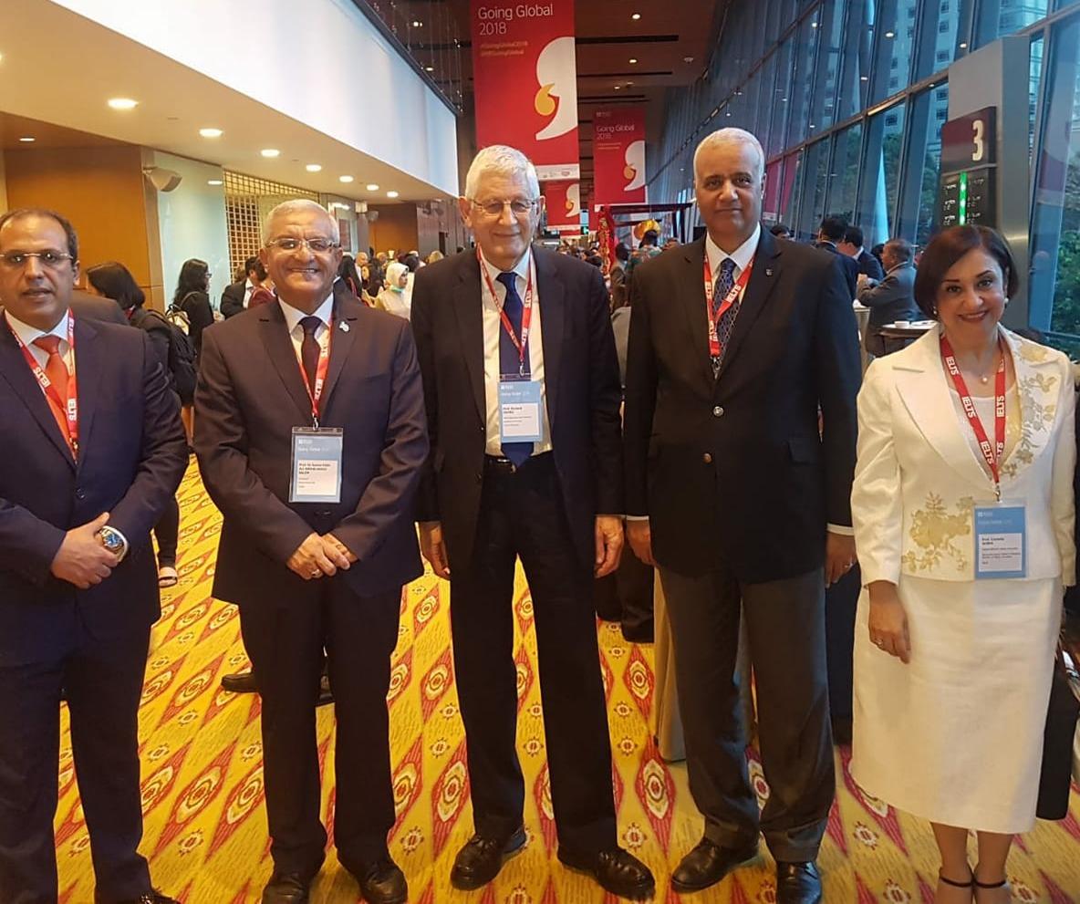 رئيس جامعة المنيا يشارك بالمؤتمر الدولي لقادة التعليم العالي بماليزيا